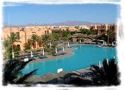 Hotel Makadi Oasis in Makadi Bay - Poollandschaft